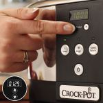 Crock-Pot Slow Cooker Adatta fino a 8 Persone – 230 W pannello digitale