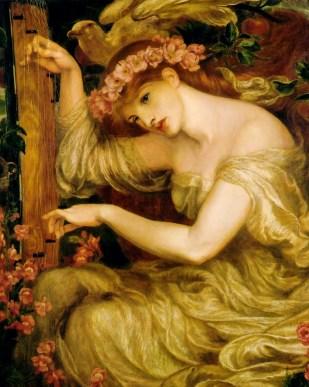 """Dante Gabriel Rossetti, """"A sea spell"""""""