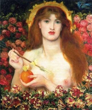 "Dante Gabriel Rossetti, ""Venus Verticordia"""