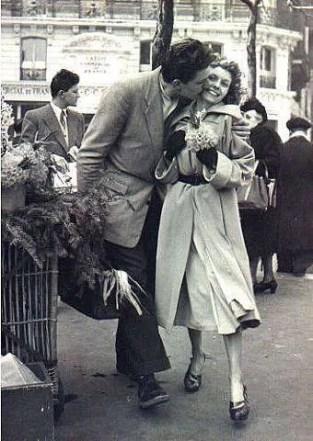 Robert Doisneau, Amoureux aux poireaux