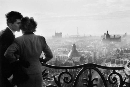 Willy Ronis, gli innamorati della bastiglia 1957