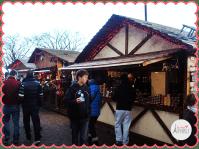 Chalets del Marché de Noël