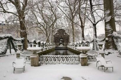 Jardin du Luxembourg - @JardinLuco - fontaine - 7 feb