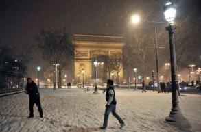 Paris - @ParisAMDParis - Arc de Triompe - 7 feb