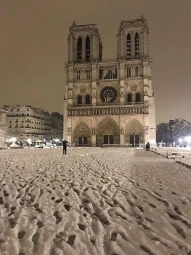Remy Buisine - @RemyBuisine - Notre Dame - 7 feb