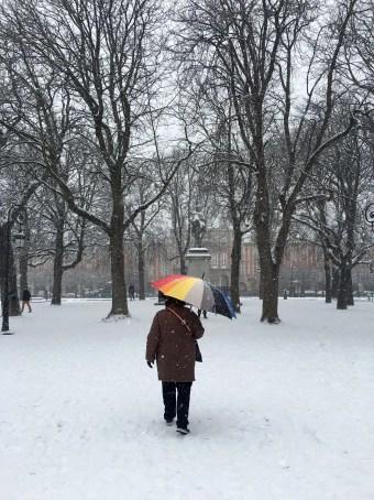 the parisienne - @zeparisienne - Place de Vosges - 9 feb