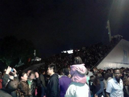 Fête de la Musique 2013 - gradoni davanti la facciata