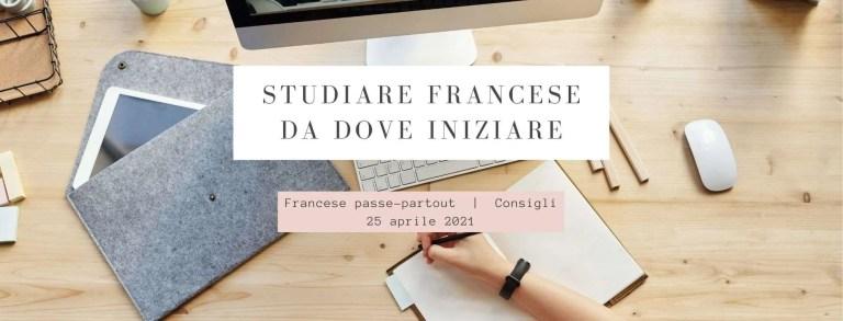 studiare francese: da dove iniziare