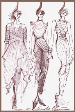 Sketch di Annalisa Colonna for DIESEL