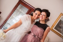 (B)The designer Annalisa Colonna with the bride in her wedding day - Ph Nicola Centoducati