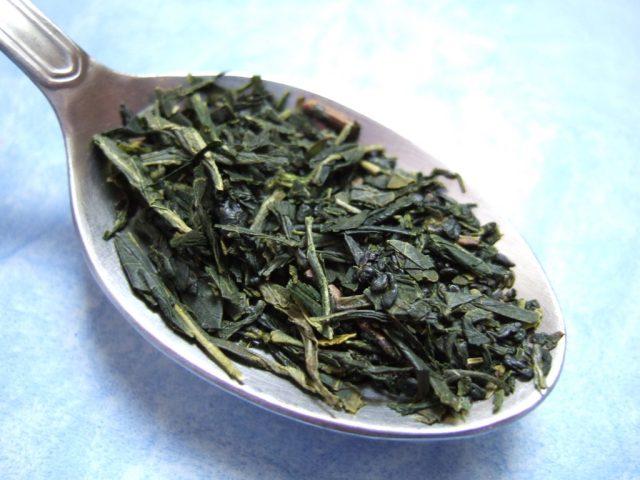 le thé vert contient de l'épigallocatéchine, puissant antioxydant très intéressant en micronutrition