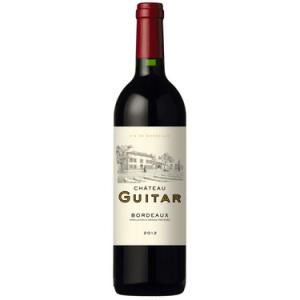 AOP Bdx Rouge Ch Guitar 2012