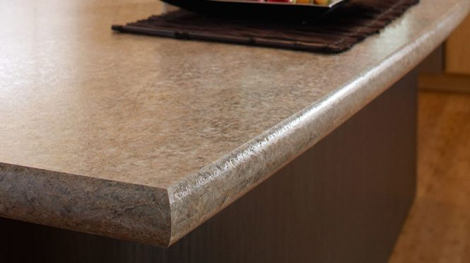 Curved Edge Laminate Countertops