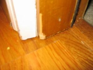 laminate poor door jamb undercuts