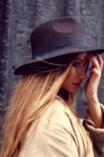 chapeau borsalino fedora brun forever21