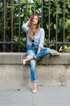 How to wear the boyfriend jean ? Denim on denim | La ...