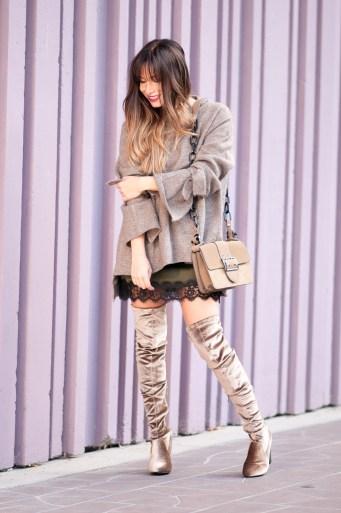 blog mode comment porter les cuissardes en velours