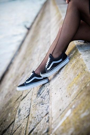 blog mode noir vans noirs old school