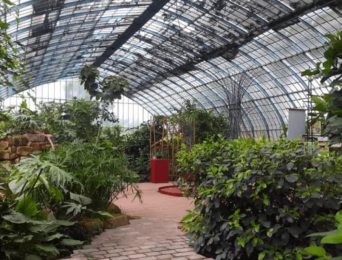 Jardin des Serres d'Auteuil Paris 16