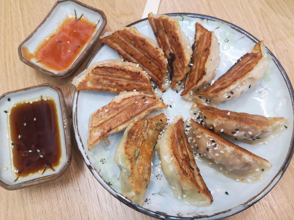 Assiette de 10 gyozas japonais