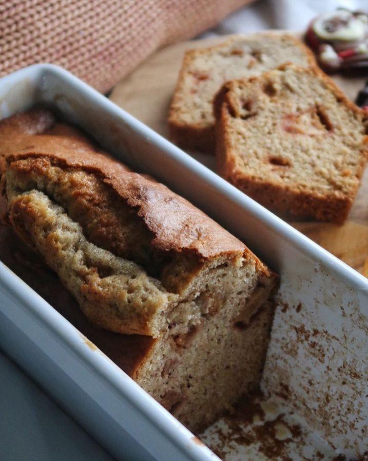 recette pomme noisettes cake