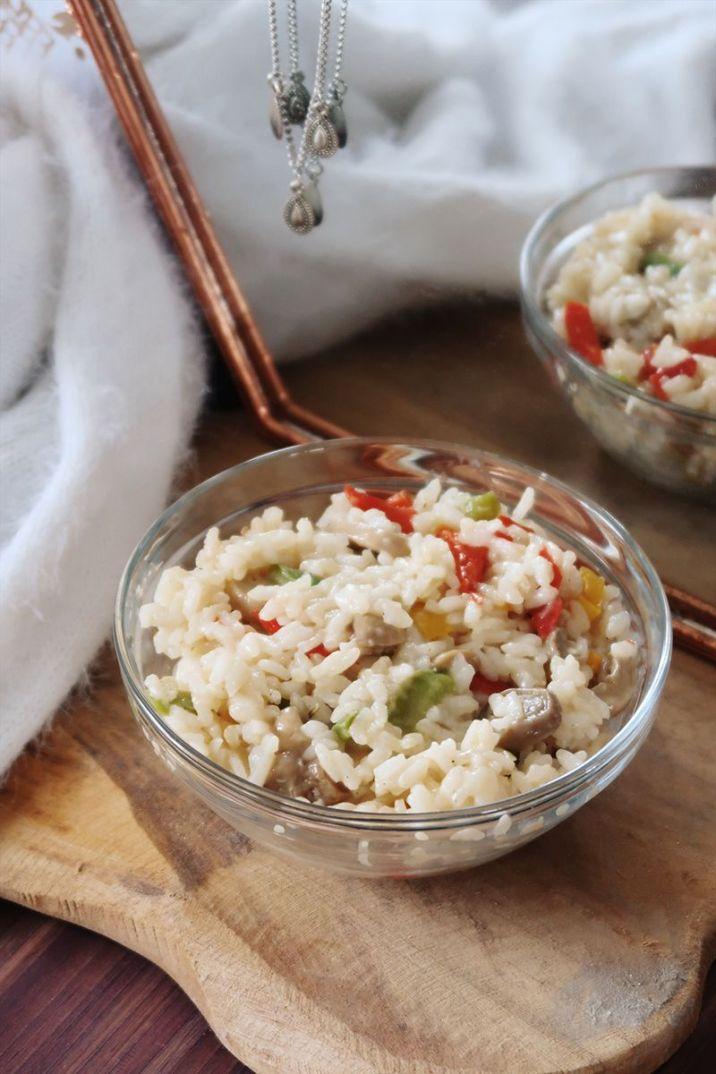 risotto légumes sans sucre