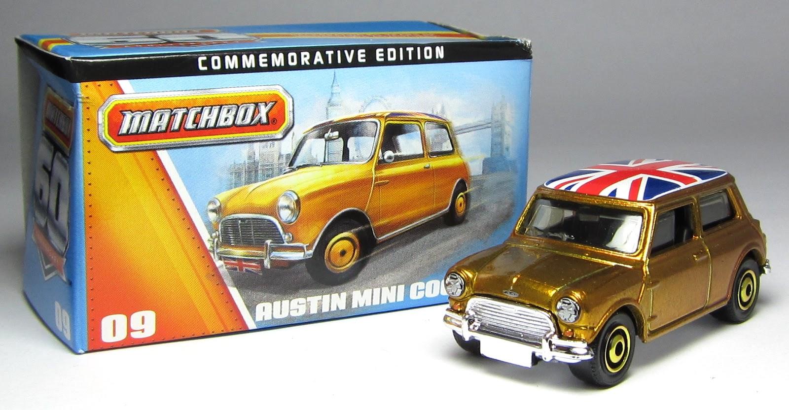 First Look Matchbox 60th Anniversary Austin Mini Cooper