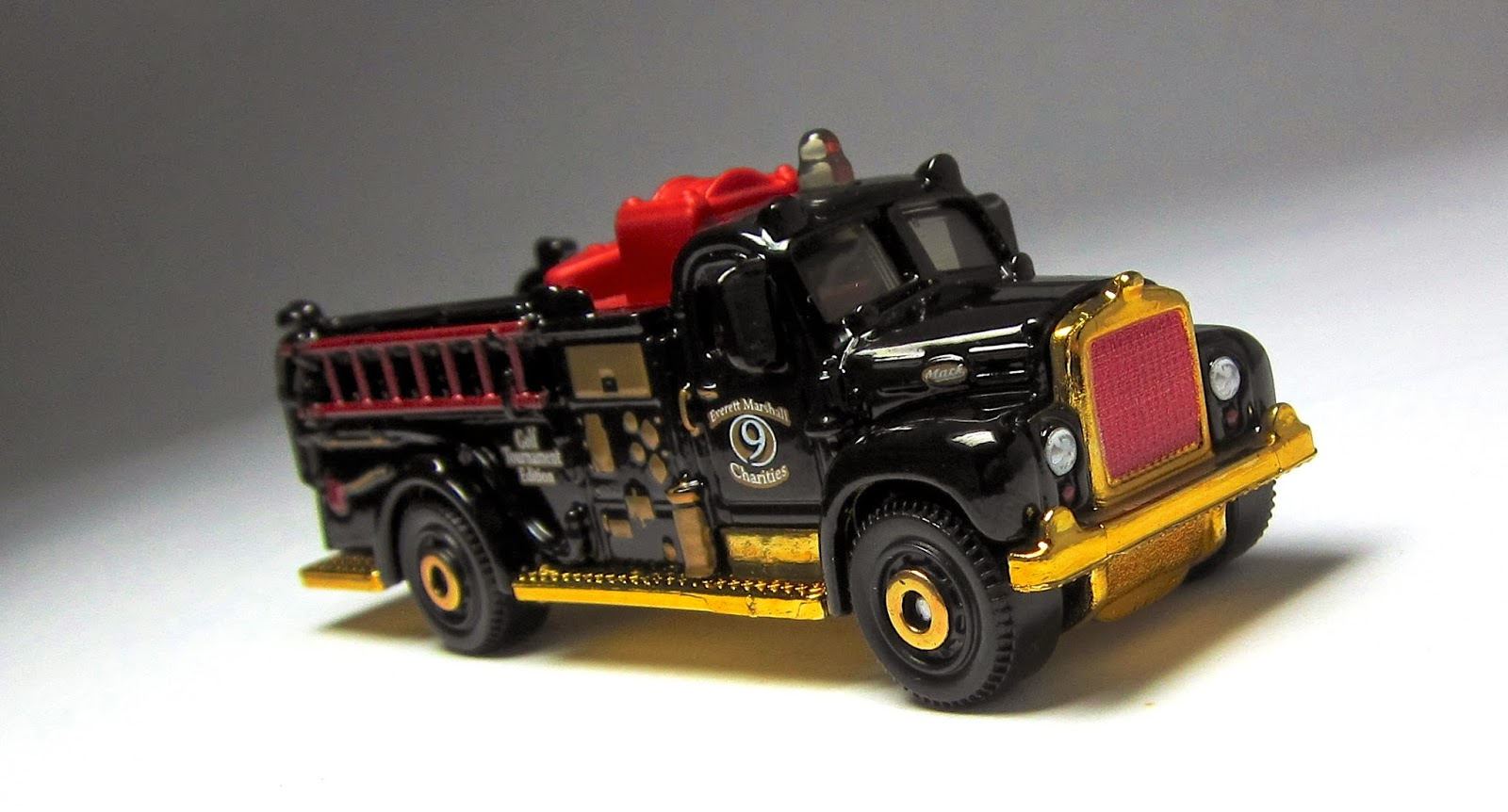 Toys For Trucks Everett : First look matchbox mack b fire engine everett