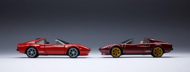 Loose Hot Wheels Red Ferrari 308 w//Blackwall Wheels