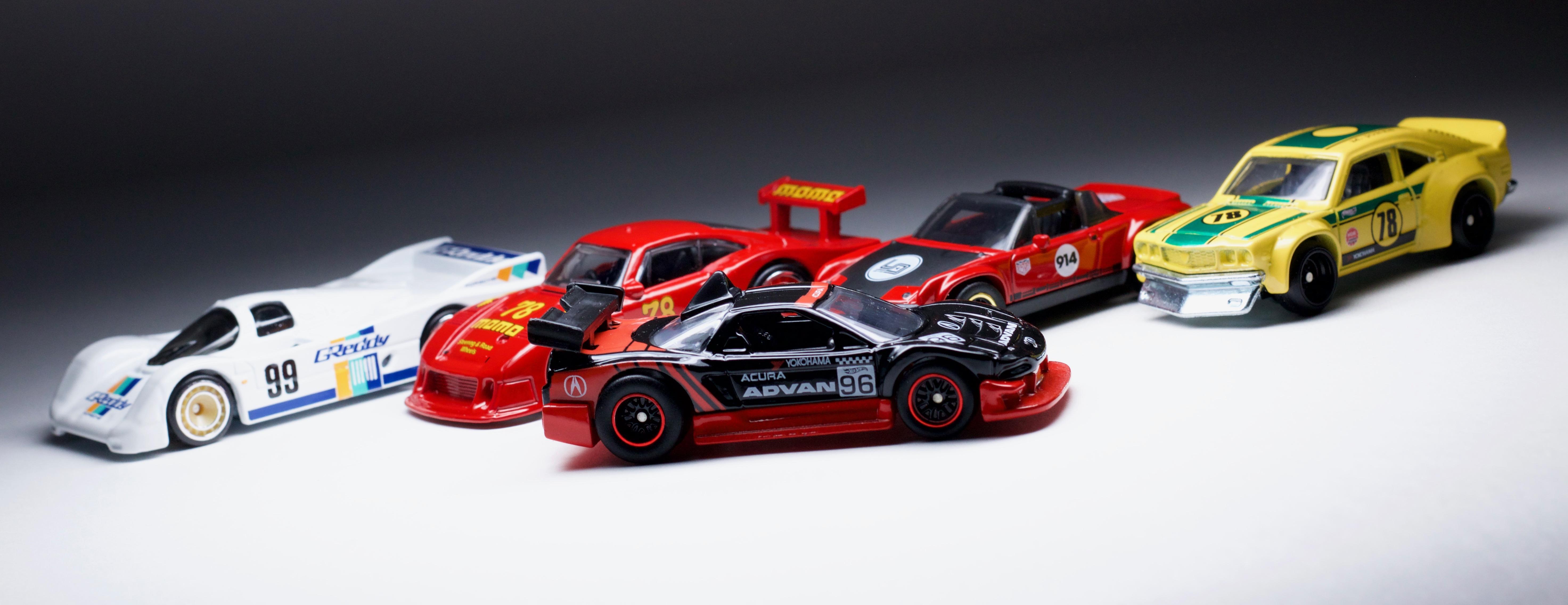 Hot Wheels Race Day Acura NSX