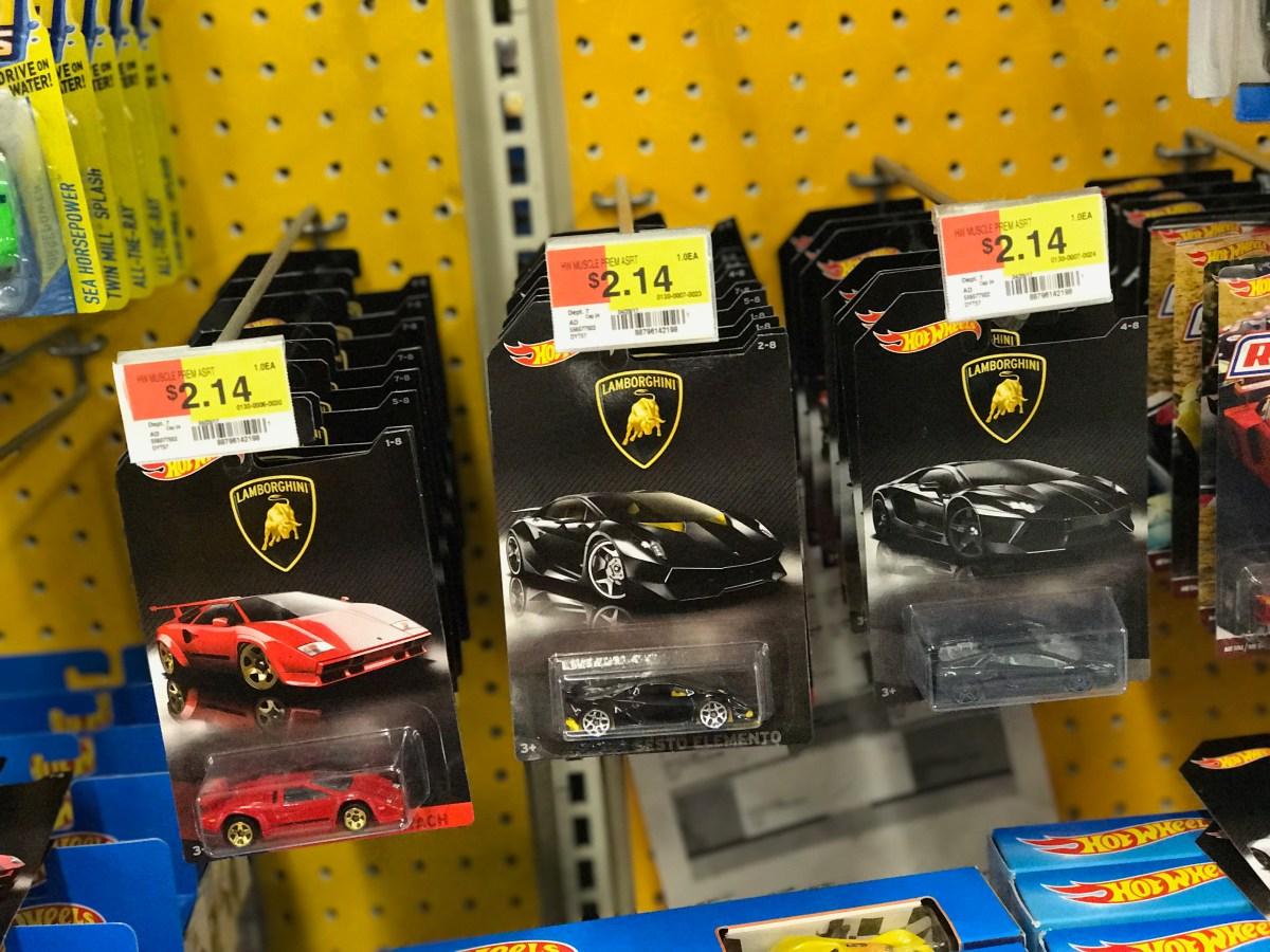 The Hot Wheels Lamborghini Set Has Hit The Us Exclusively