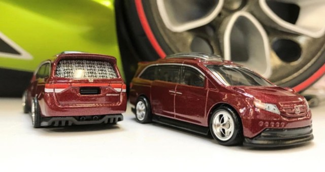 Hot Wheels Unveils The Car Culture Modified Honda Odyssey And I Am Sensing A Theme TheLamleyGroup