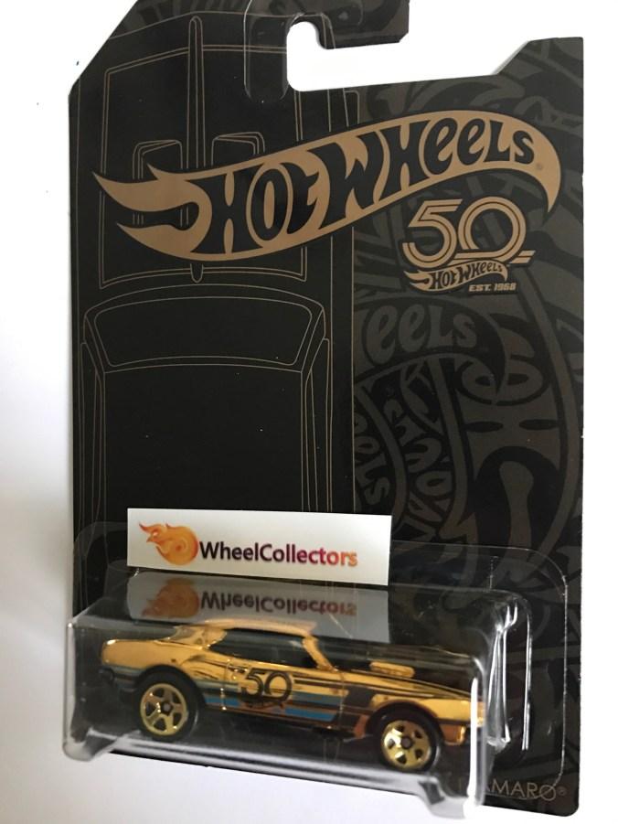 New hot wheels th anniversary set with camaro