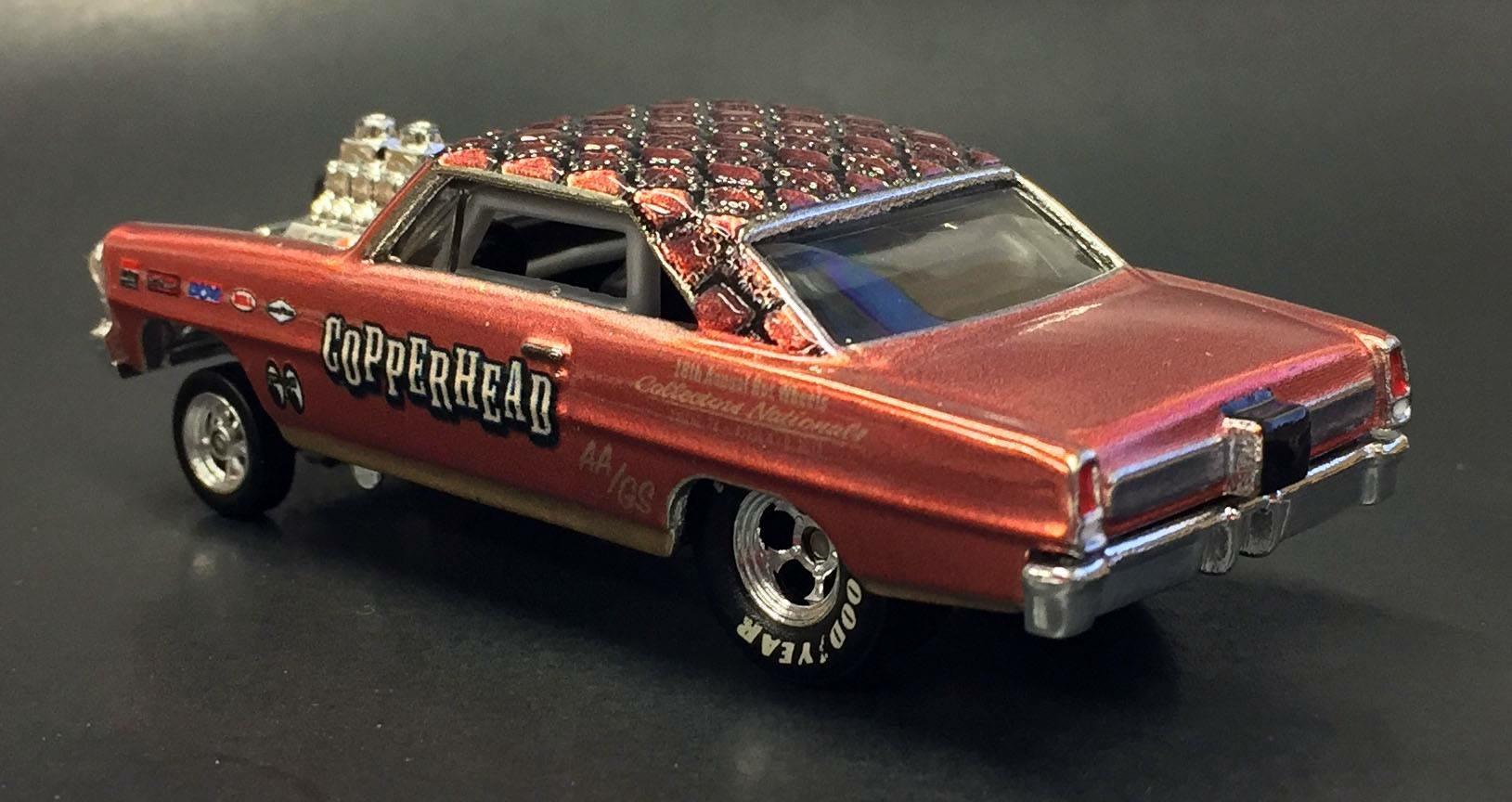 You gotta check out the Hot Wheels '66 Super Nova Gasser Nationals
