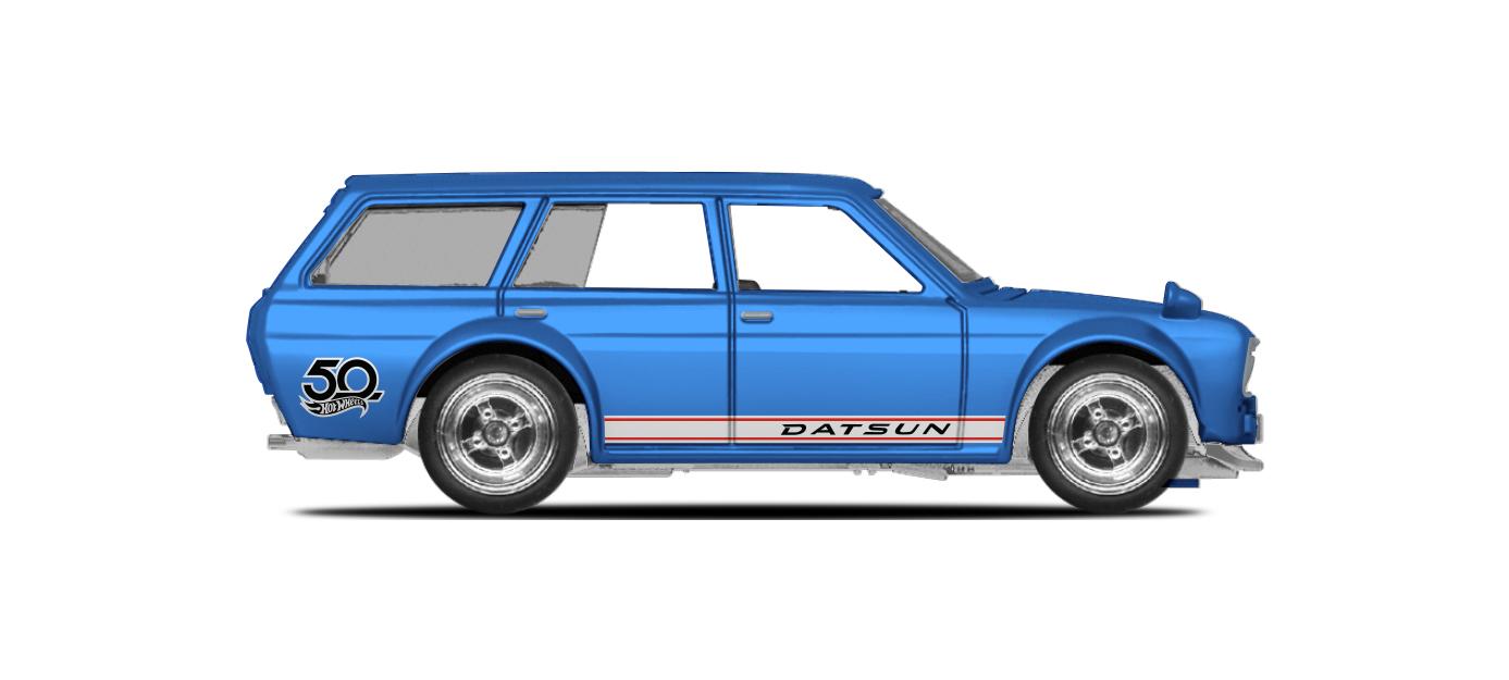25. '71 Datsun Bluebird 510 Wagon