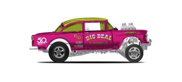 35. '55 Chevy Bel Air Gasser