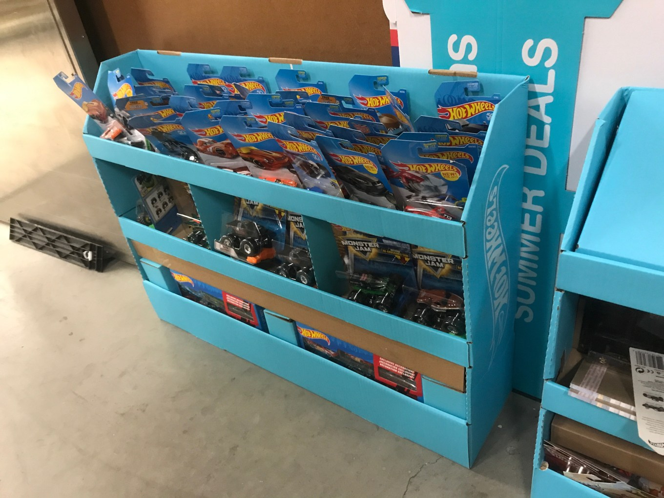 Time to head to walgreens: hot wheels 50th anniversary shippers are