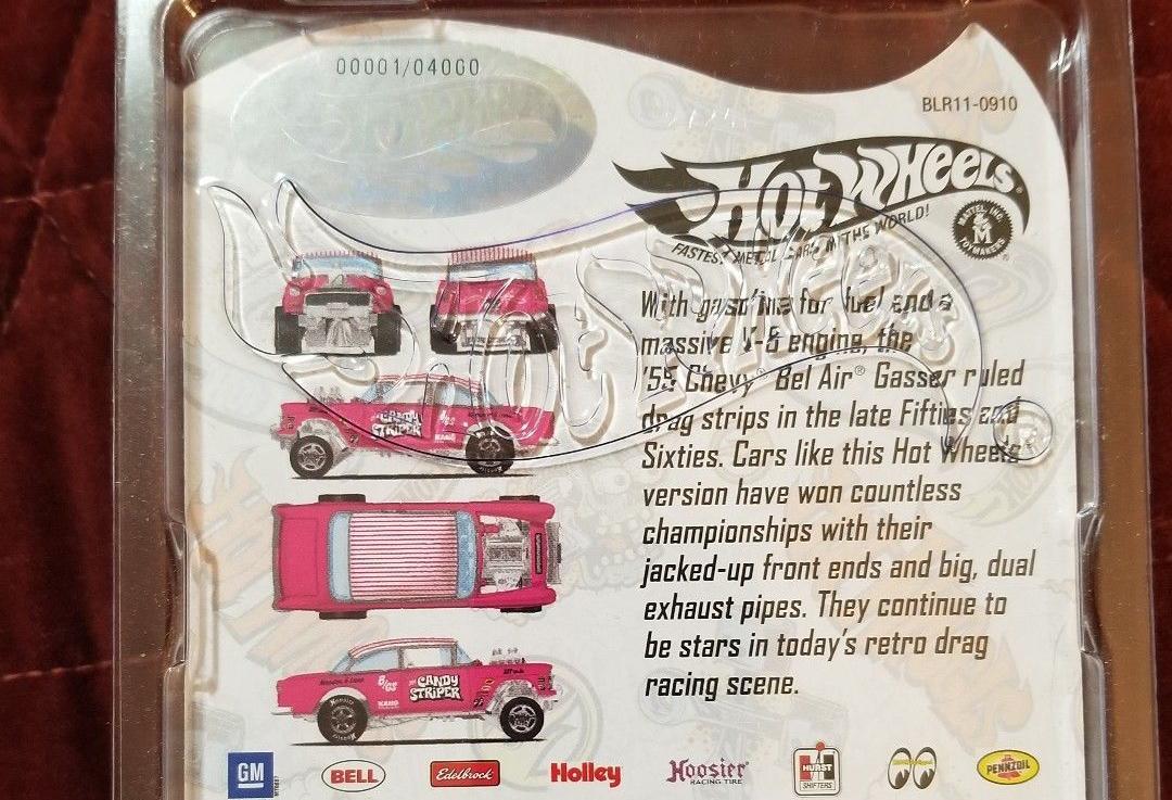 Hot Wheels Chevy  Gasser  DECALS ONLY