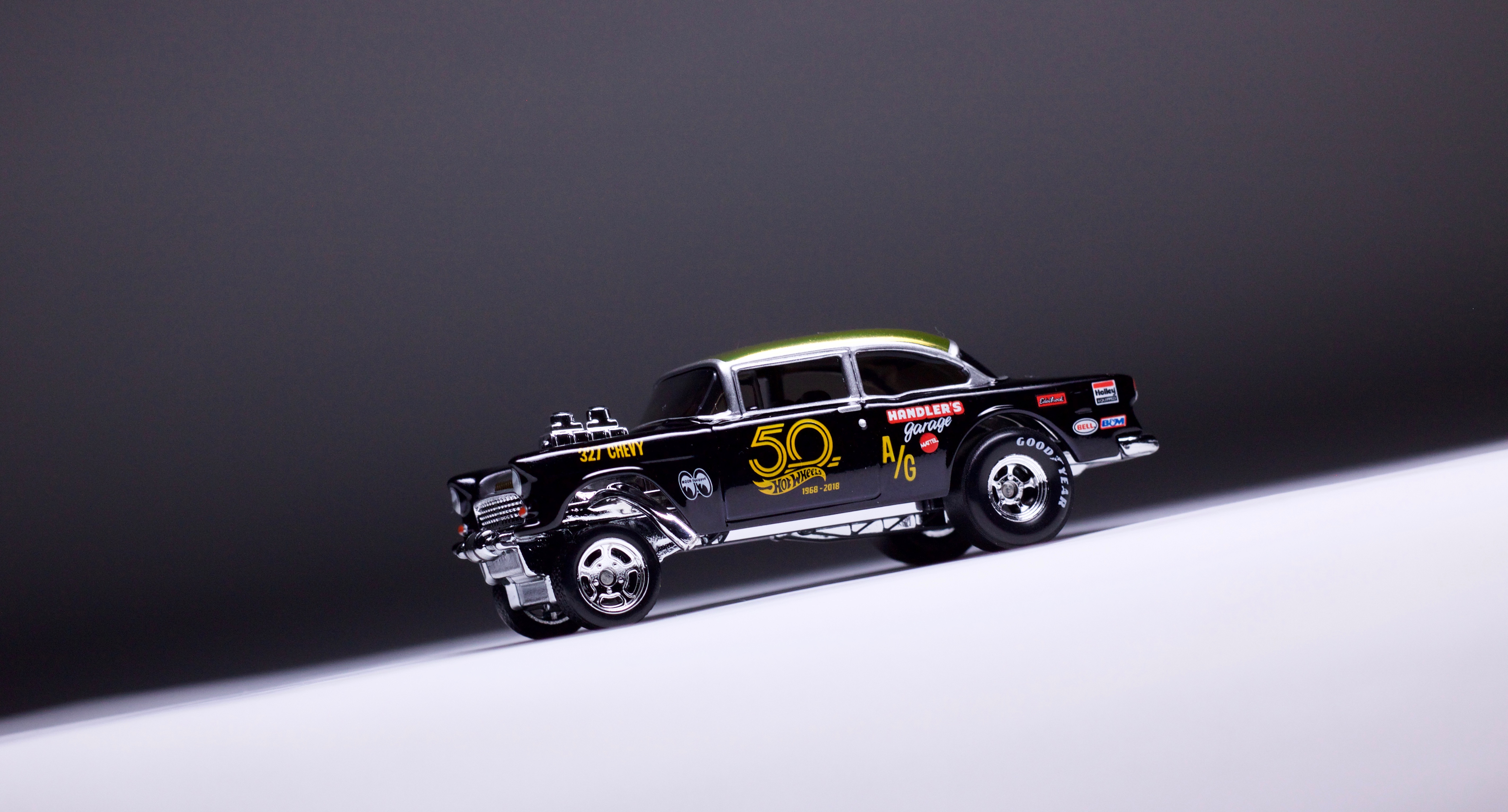 The Hot Wheels '55 Chevy Bel Air Gasser Convention Finale