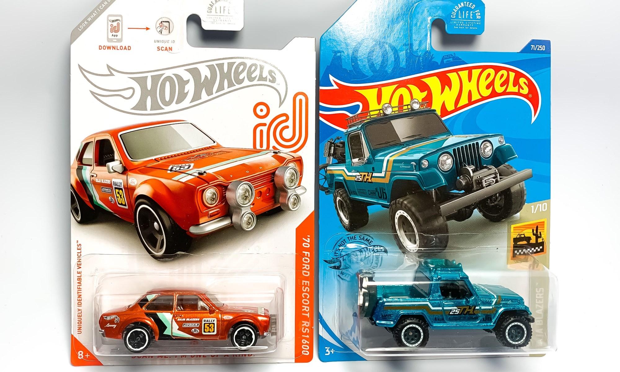 /'70 Ford Escort RS1600 Hot Wheels 2020 Case C Baja Blazers 5//10 Mattel