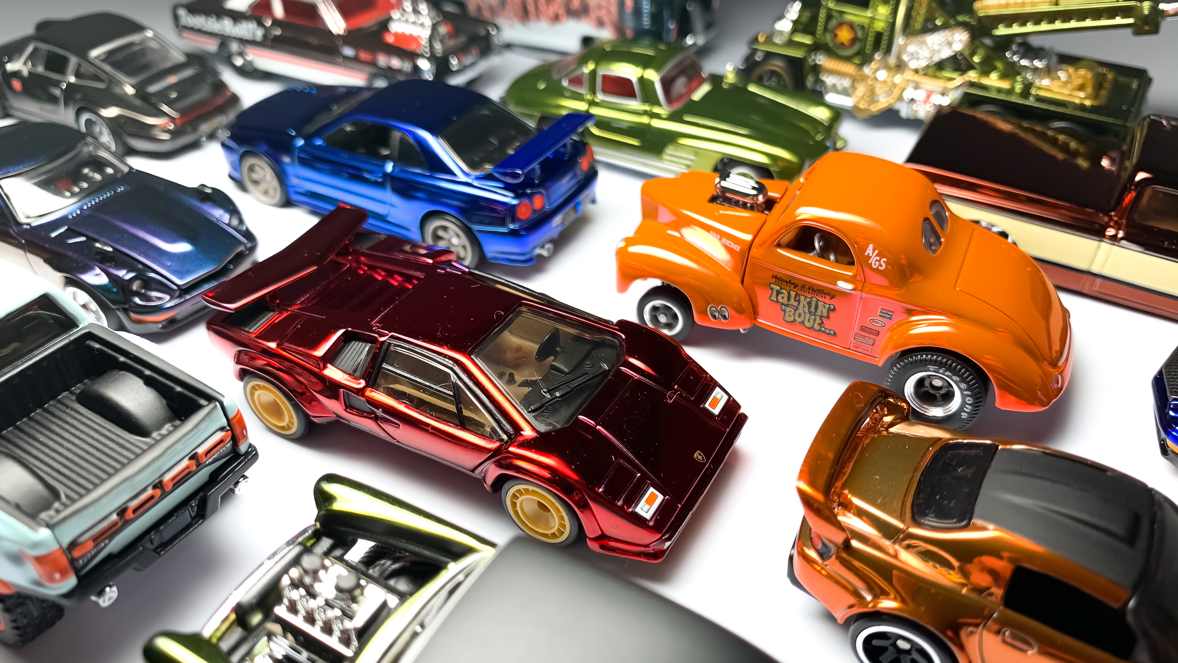 Classic Volkswagen Hot Wheels Collection 5 LOT Brand New Excellent Condition