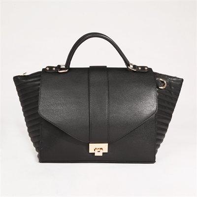 sac noir bimatière