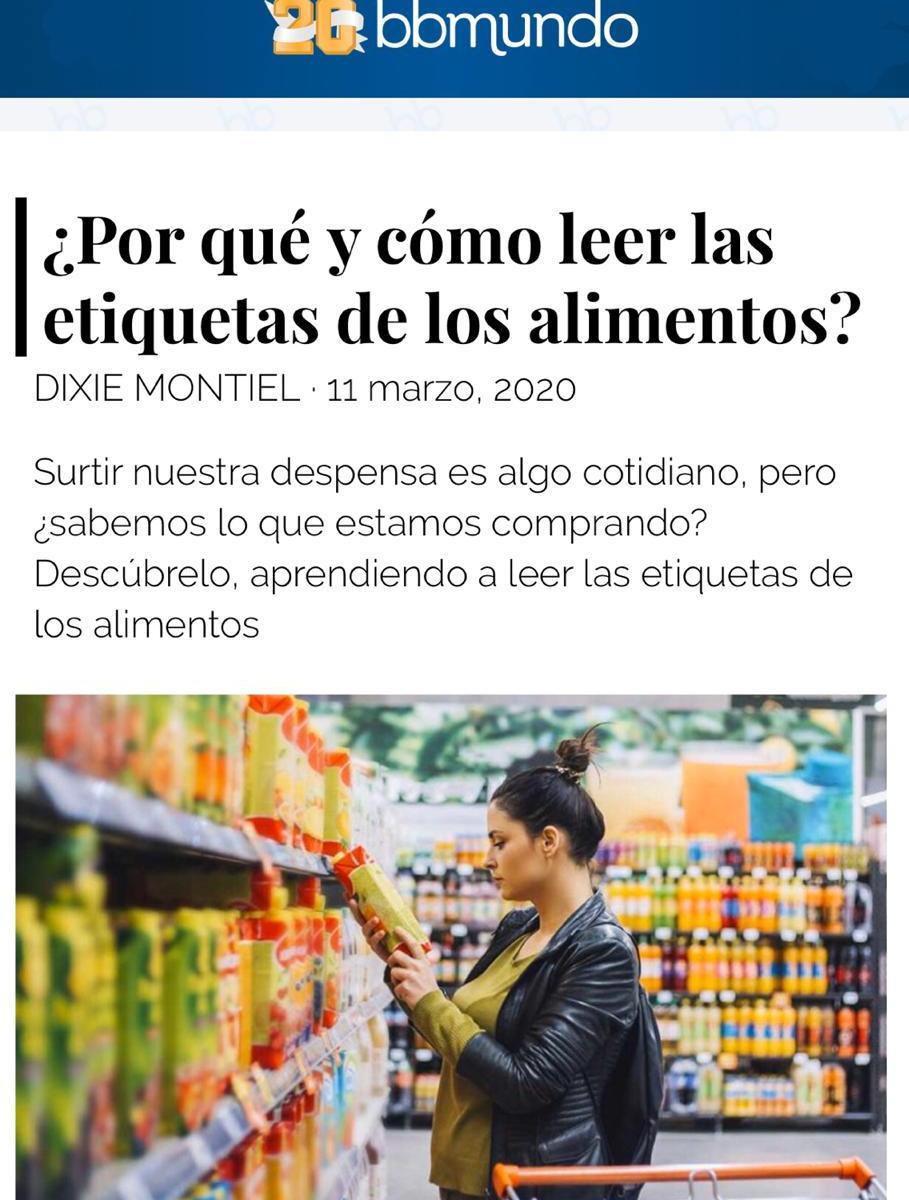 por que leer las etiquetas de los alimentos