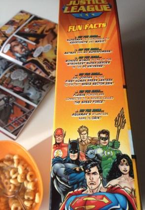 General Mills & DC Comics promo