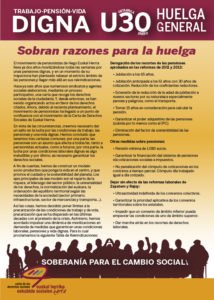 Huelga general 30 de enero