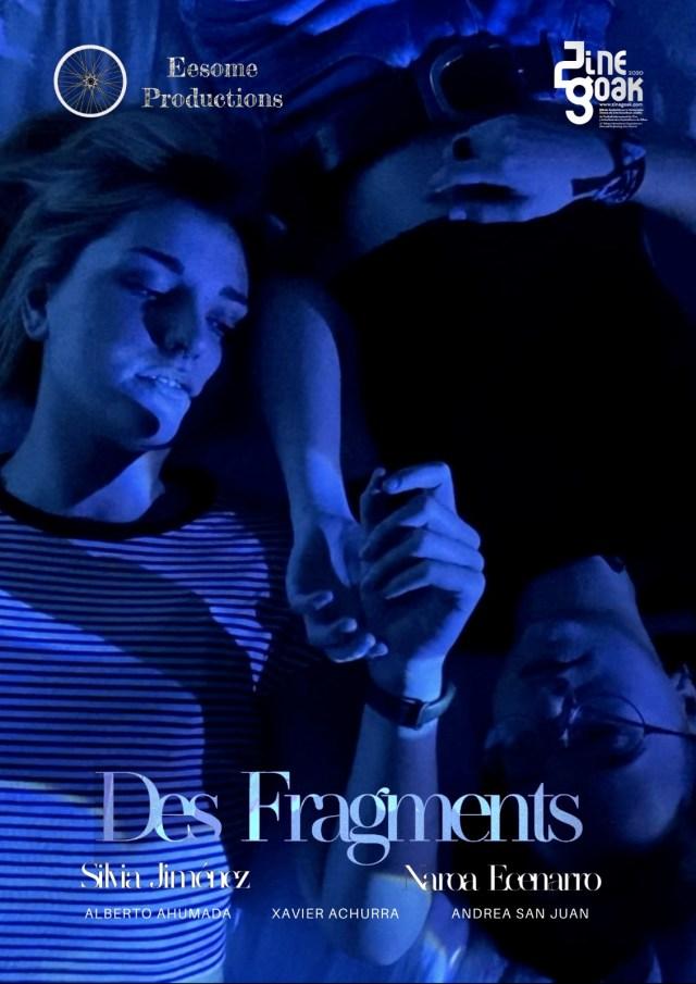 El pasado jueves, el cortometraje Des Fragments (fragmentos) ganó el primer premio del jurado y el premio del público en el festival Zinegoak… Express your sex!