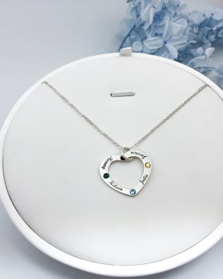 """Love"" Family Name Necklace"