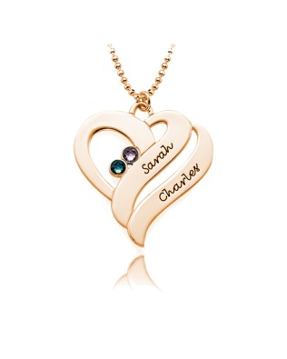 Double Necklace Silver S925 Rose Gold Plated
