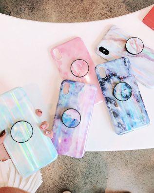 Marble Polar Lights Phone Case