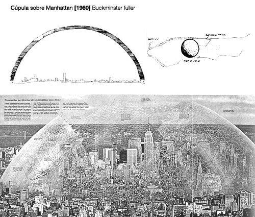 Cúpula sobre Manhattan, Fuller 1960